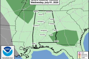 Humid Air Persists; Scattered Showers/Storms Remain In The Forecast