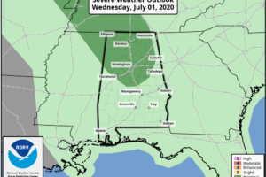 A Couple Of Rounds Of Storms Likely Today