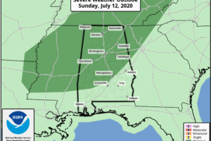 Rising Heat Levels; Strong Storms Sunday