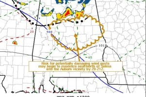 Severe Threat Continues Across the Severe T-Storm Watch Area