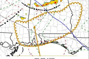 New Severe T-Storm Watch Possible for South Alabama