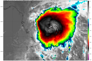 10 a.m. Update on Isaias:  Convection has Increased, but Still Struggling to Organize