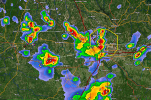 Severe Thunderstorm Warning for Parts of Elmore and Montgomery Counties Until 315 p.m.