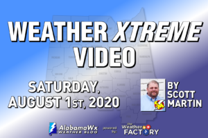 Weather Xtreme: Scattered Storms Possible Today, Mainly Dry for Sunday; Isaias Continues Toward the US