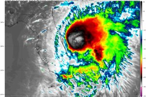 Isaias Nearing Hurricane Strength Once Again; Continues Journey North-Northwestward Just Offshore