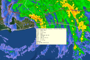 92 mph Gust at Pensacola Naval Air Station, 24.8 Inches of Rain; Lots of Damage Along the Coast