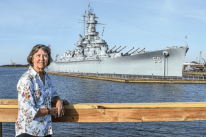 Battleship Park's Janet Cobb Is at the Helm of a Living Memorial
