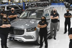 Mercedes Produces High-End Luxury Maybach SUV in Alabama