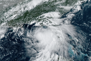 Tropical Storm Sally – Sunday Evening Update