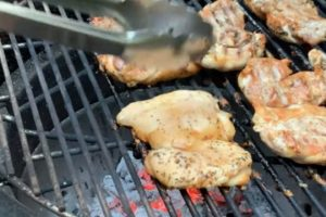 The Grilling King: Chicken Thigh Sandwiches