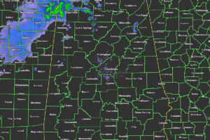 Some Showers Moving In From the Northwest at Midday; Marginal Risk for Severe Storms on Thursday
