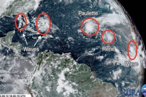 Wetter Pattern Ahead For Alabama; Tropics Remain Very Active