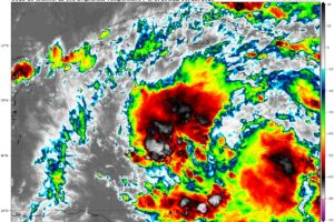 Invest 95L is Not a Depression Yet; Epsilon Continues Moving Away from Land