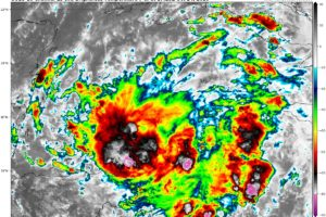 Invest 95L is Looking Organized; Depression Possibly By This Afternoon or Evening