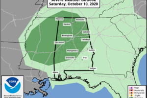 Showers Tomorrow; Breezy/Wet Saturday