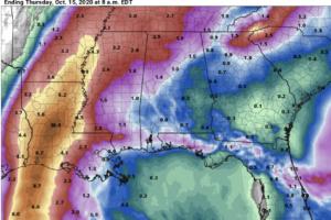 Showers Tomorrow; Wet Weekend Ahead