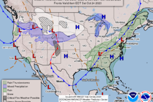 Weather Xtreme: Showers & Storms Today, Potential Tropical Moisture Moves In By Midweek