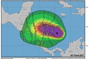 Iota Becomes a Category Two Hurricane With 100 mph Winds