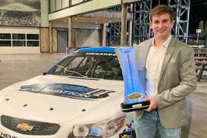 Bret Holmes honored for ARCA win FEATURE