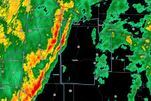 Strong Storms Moving Through Portions of Marion and Fayette Counties