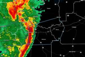 Strong Storms Now Pushing Into Portions of Elmore, Macon, & Montgomery Counties