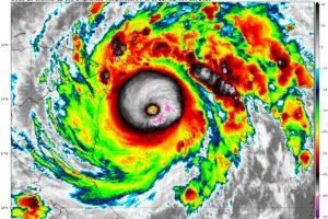 Hurricane Iota Now Has Winds of 155 mph, Just Below Cat Five Intensity, Hurricane Hunters Approaching Core