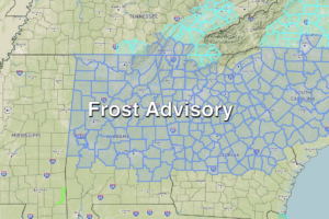 Frost Advisory Tonight; Warmer Later This Week