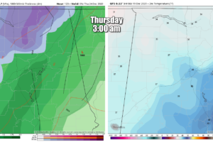 Weather Xtreme: Some Showers Possible Tonight Through Parts of the Day on Sunday