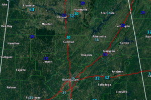 Freezing Fog Advisories for Much of North and Central Alabama This Morning