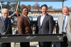 Alabama NewsCenter:  BJCC Marks Topping Out of $174 Million Protective Stadium in Birmingham