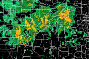 Severe Threat Continues for Parts of Central Alabama at 8:30 pm