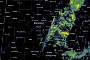 Midday Nowcast: Rain is Gradually Pushing East