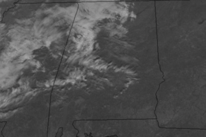 Midday Nowcast:  Passing Clouds