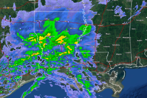 Sleet Being Reports in Tuscaloosa and Western Jefferson Counties; Reports to the West