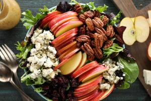 Alabama Newscenter — Recipe: Apple Pecan Salad with Apple Cider Vinaigrette