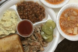 Alabama NewsCenter — Hilltop Grill BBQ and Camp Stew One of 100 Dishes to Eat in Alabama