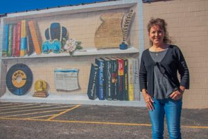 Alabama NewsCenter — New Mural Celebrates Alabama Literary Giants