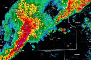 Strong Storms Affecting Tuscaloosa, Perry, Hale, & Bibb Counties