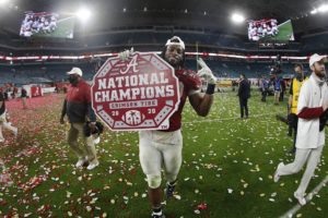 Alabama NewsCenter — Alabama Crimson Tide Wins National Championship to Complete Special Season
