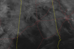 At Midday… Clouds Over the North, Sun Over the South