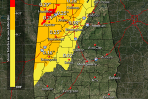 A Late Morning Look at the Winter Storm Situation for Alabama
