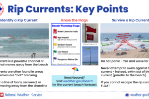 Gulf Coast Rip Current Awareness Week — Day 5:  Beach Flags and Additional Resources
