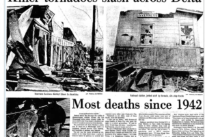 On This Date in 1971:  The Mississippi Delta Tornado Outbreak