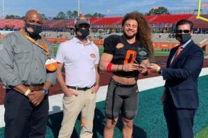 Alabama Newscenter — Grant Stuard Receives Alabama Power Community Service Award at 2021 Reese's Senior Bowl
