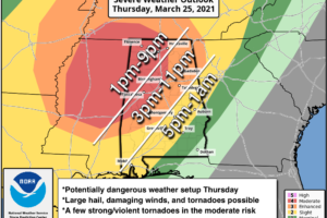 Major Severe Weather Threat Tomorrow Afternoon/Tomorrow Night