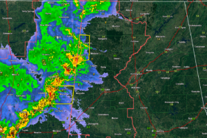 Radar Update Just After 10 p.m.