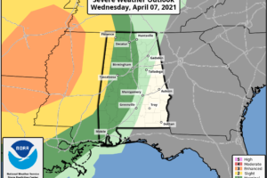 Strong Storms Late Tonight/Tomorrow Morning
