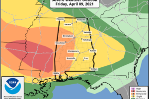 Scattered Strong Storms This Afternoon; Severe Storms Late Tonight/Early Tomorrow