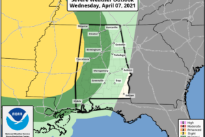 Strong Storms Arrive Late Tomorrow Night