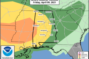 Clearing Later Today; More Strong Storms Tomorrow Afternoon